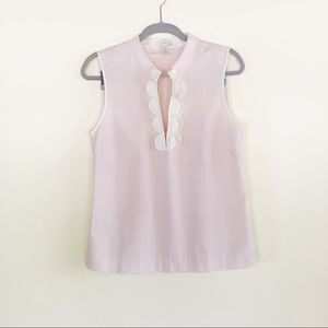 J Crew Size 8 Blush Pink Petal Tunic
